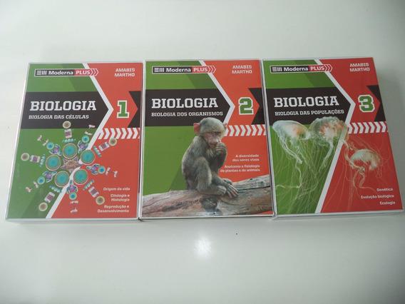 Coleção De Biologia Amabis Martho 3a Edição