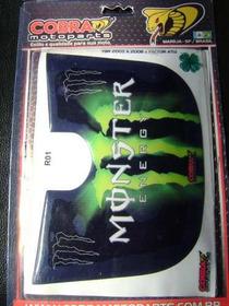 Protetor De Rabeta Resinado Yamaha Ybr Monster Verde