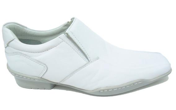 Sapato Social Branco Couro Legitimo Confort Frete Gratis !!!