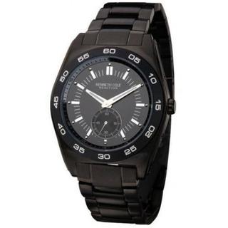 Kenneth Cole - Reloj Aceroionizado Negro Kc3765 Envio Gratis