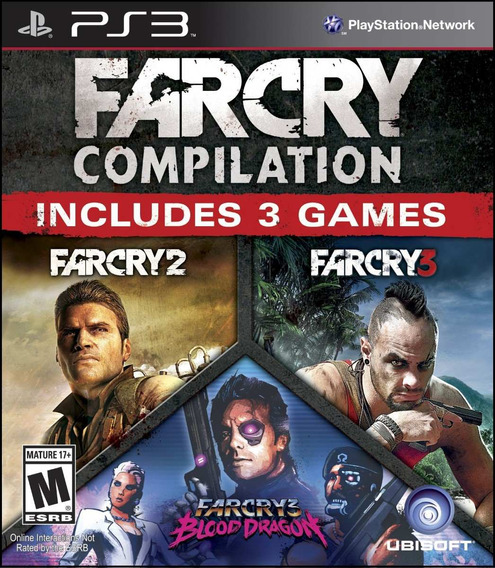 Jogo Novo Lacrado Far Cry Compilation Para Playstation 3
