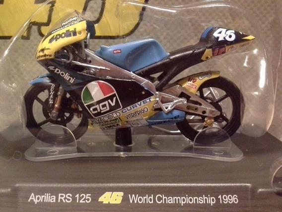Miniatura Moto Valentino Rossi Aprilia Rs 125 1996 Rara 1:18