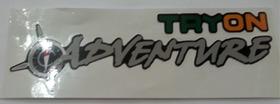 Emblema Adesivo Tryon Adventure Strada Palio Grande