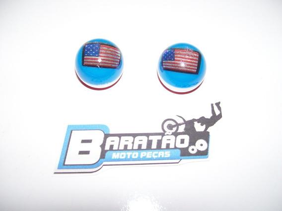 Tampa Bico Pneu Bandeira Cg 125 Fan Titan 150 Ybr Factor Rdz