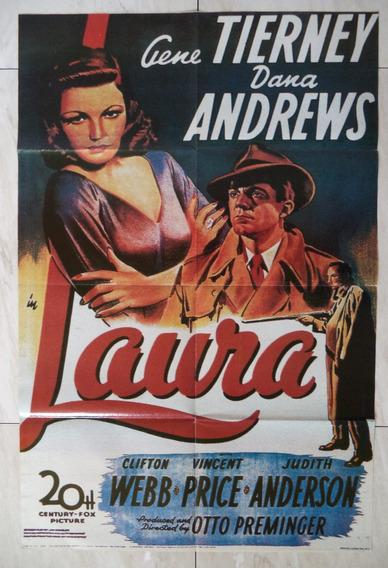 Poster Laura Coleção Caras Cinema