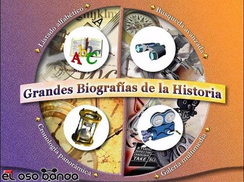 Diccionario Interactivo De Biografías (envío Digital)