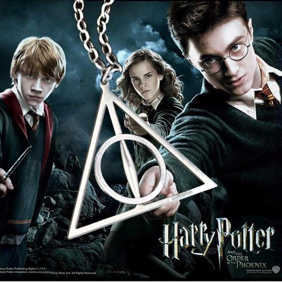 Colar Relíquias Da Morte, Centro Giratório - Harry Potter
