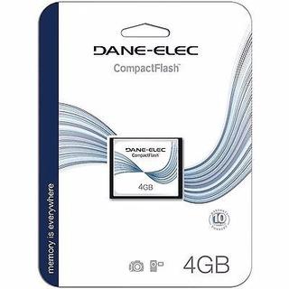 Cartão De Memoria Compactflash 4gb Dane Elec Novo Lacrado