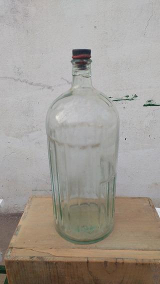 Antigua Botella De Veneno Poison Relieve