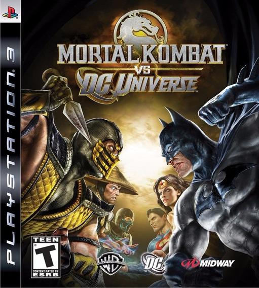Mortal Kombat Vs Dc Universe Ps3 (psn) Envio Imediato !