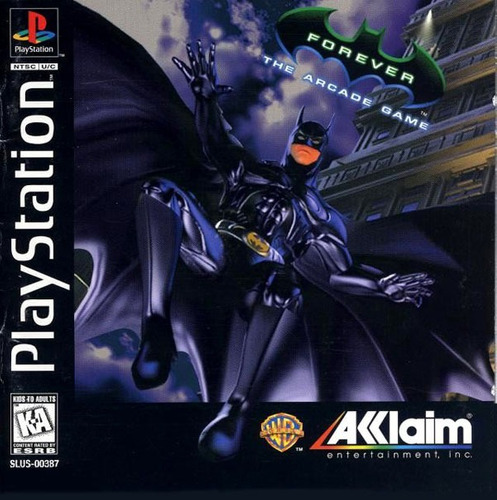 Batman Forever The Arcade Game - Playstation 1