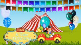 Projeto Proshow Producer Tema Circo