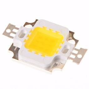 Kit 25x Mega Led Chip 10w 12v 1.000 Lm - Branco Frio