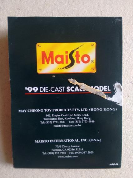 Catalogo Miniatura Maisto 99 Die Cast Motos E Carros