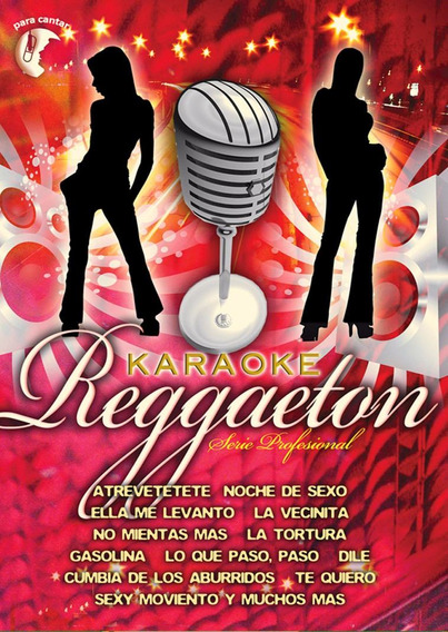 Karaoke - Reggaeton Dvd - U
