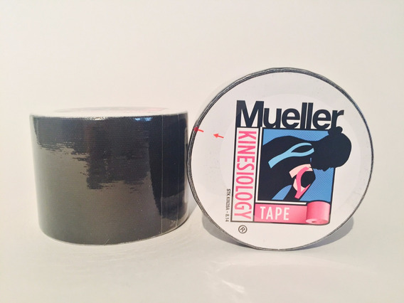 Cinta Kinesiológica Mueller Negra Vendaje Neuromuscular
