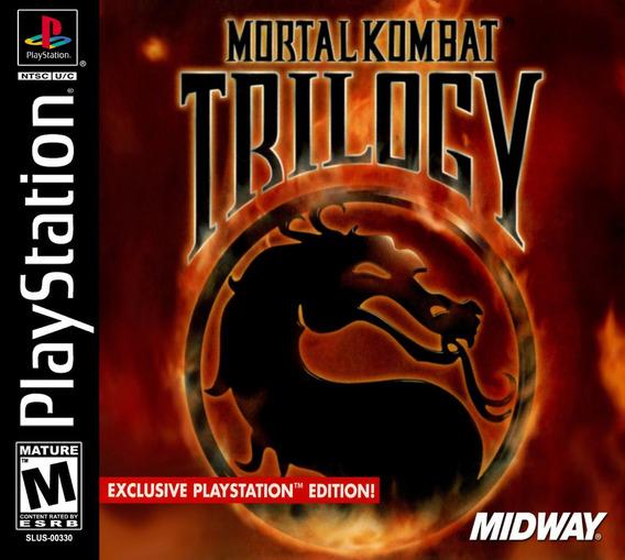 Mortal Kombat Trilogy Playstation 1 Psone Psx