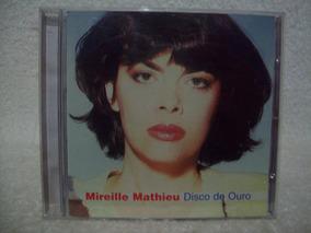 Cd Original Mireille Mathieu- Disco De Ouro