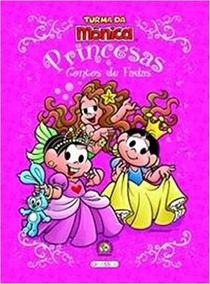 Livro Turma Da Mônica - Princesas E Contos De Fadas