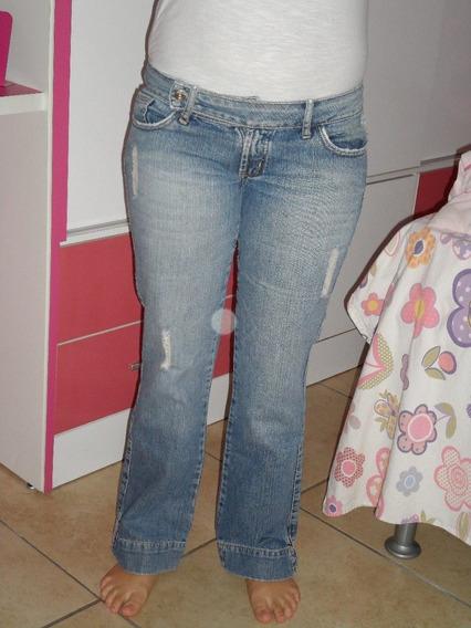 Calça Jeans Feminina Waterproof Tamanho 40