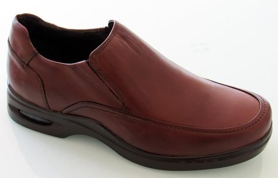 Sampés Sapato Masculino Couro Ref 8715 Dark Brown