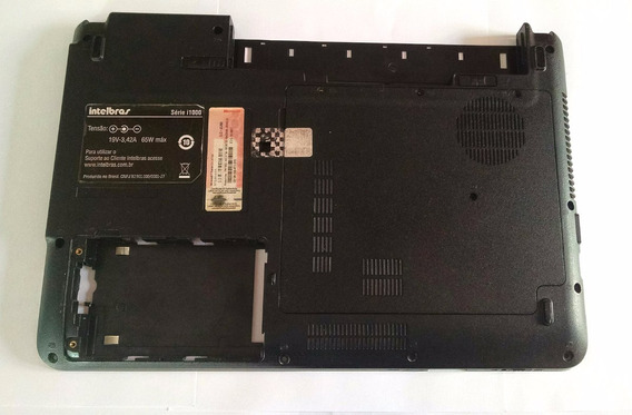 Carcaça Base Inferior Notebook Intelbras Série I1000