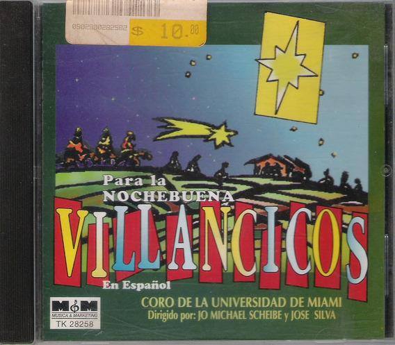 Villancicos En Español Cd Arg .