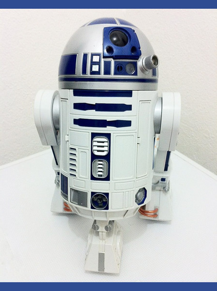 Star Wars R2d2 Interativo Hasbro C3po Darth Vader - 42cm
