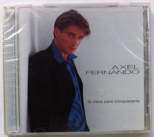 Axel Fernando. La Clave Para Conquistarte. Cd Original Nuevo