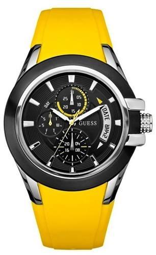 Guess - Reloj Multifuncion Resina # U10575g5 Envio Gratis