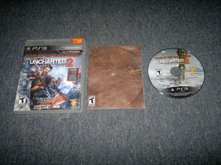 Uncharted 2 Among Thieves Completo Play Station 3,excelente