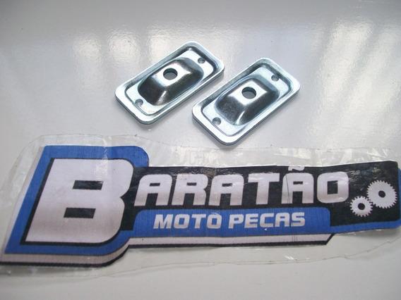 Placa Esticador De Corrente (par) Honda Cbx 250 Twister