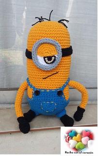 Minions Stuart Tejido A Crochet!!