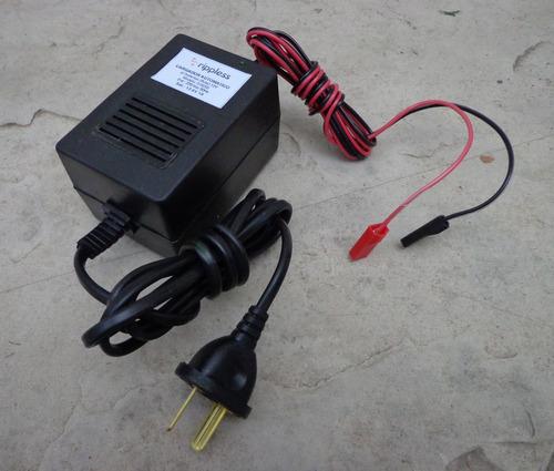 Imagen 1 de 3 de Cargador Automatico Baterias 6v Ó 12v 1ah Cuatriciclo Niños