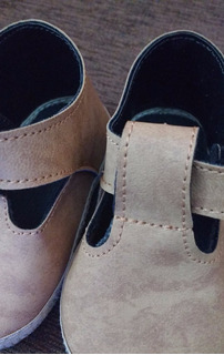 Calzado Bebe No Caminante T13 9,2cm T16 10,7cm Zapato