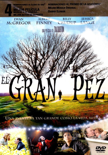 Dvd El Gran Pez ( Big Fish ) 2003 - Tim Burton / Ewan Mcgreg