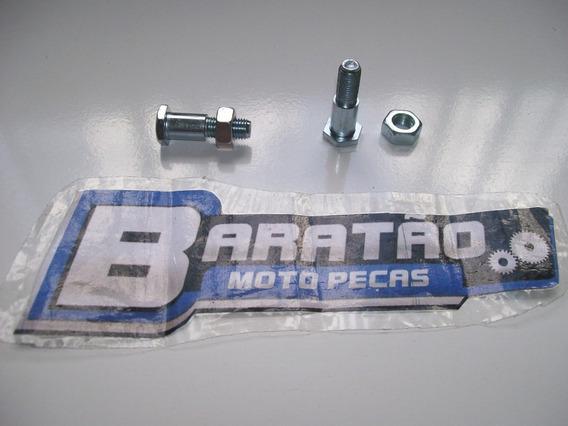 Parafuso E Porca Do Pedal Cavalete Lateral Honda Cb 400 450