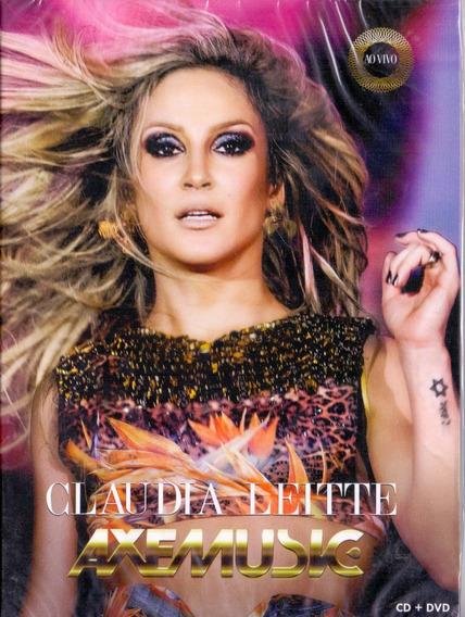 Dvd+cd Claudia Leite - Axe Music Ao Vivo - Novo***