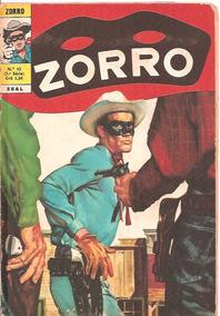 Zorro Nº 42 Ebal. Fevereiro De 1974 3ª Série