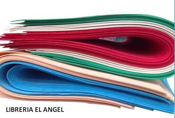 Plancha Goma Eva 40x60cm X10 Pliegos Gomaeva Manualidades