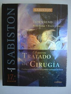 Sabiston Tratado De Cirugía. 17a Edición. 2 Volumenes.