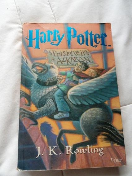 Livro Harry Potter E O Prisioneiro De Azkaban- J. K. Rowling