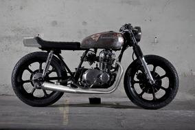 Kawasaki 440 Cafe Racer, Scrambler, Bobber Projet Amgmotos
