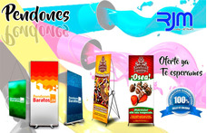 Impresión De Pendones, Banners, Vinyl, Microperforado Y Más