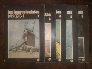 Los Impresionistas - Van Gogh Vols 2 Al 6 - Viscontea - 1975