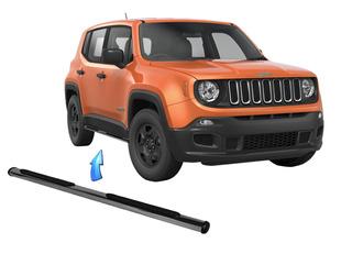Estribo Tubular Oblongo Cromado Jeep Renegade 2015 2020