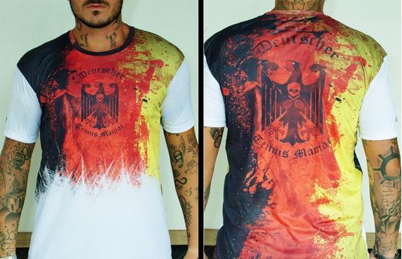 Camiseta Bones Tennis Tênis Germany Alemanha