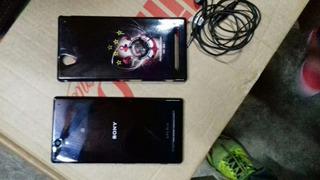 Sony Xperia T2 Com Película E Uma Capinha