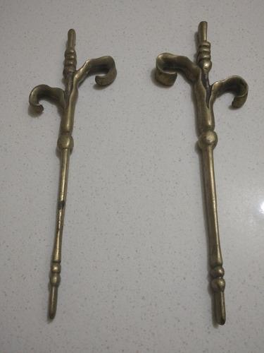 Imagen 1 de 1 de Piezas De Bronce Antigua   31 X 10 Cms