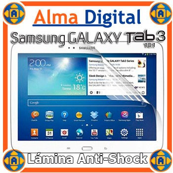 Protector Pantalla Antigolpe Samsung Galaxy Tab3 10 Antishoc